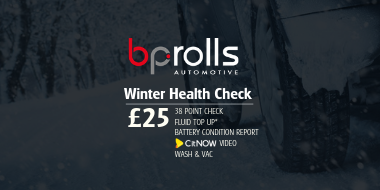 BP Rolls Automotive Winter Vehicle Health Check 2018
