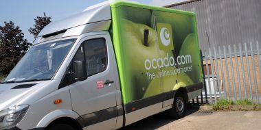 BP Rolls visit Ocado for Manufactured in Andover