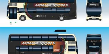 Reading Buses' Jet Black livery to be updated by BP Rolls