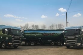 Livery Graphics for Humphrey Feeds new fleet of Scania Cabs
