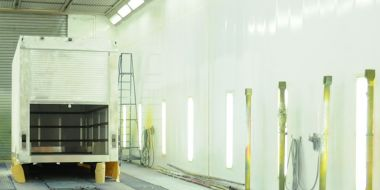 Commercial Vehicle Paint Booth (Andover)