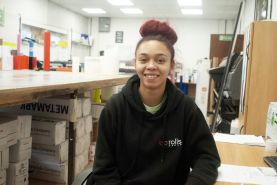 Tierney Daley - Print Apprentice at BP Rolls Signs & Graphics