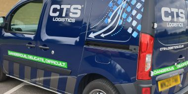 BP Rolls deliver new fleet livery graphics for CTS Logistics